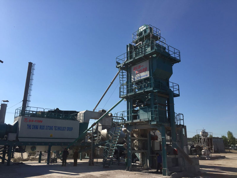 Xitong mobile mixing plant wins praise in Europe