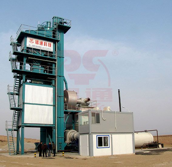 QLB-X series tower type Asphalt Mixing Plant